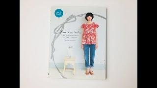 Japanese Sewing Book Review # Sweet Dress Book By Yoshiko Tsukiori