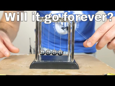 How Long Will Newton's Cradle Move in a Vacuum? How Newton's Cradle Really Works