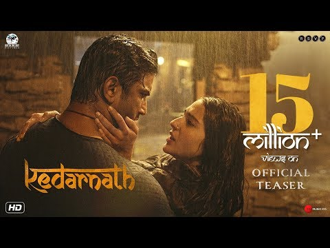 Kedarnath movie Teaser 2018 on 7th December