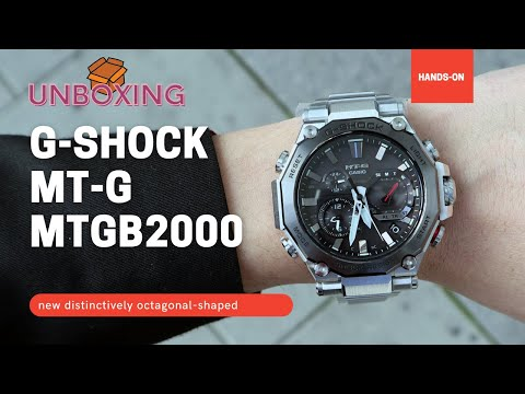 Casio G-Shock MTG-G MTGB2000D-1A