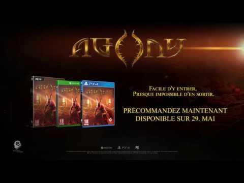 Agony : Trailer annonçant la nouvelle date de sortie