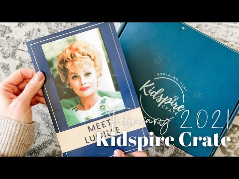 Kidspire Crate Unboxing February 2021