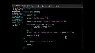 Python [sys] 05 Exit Codes
