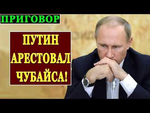 ПУTИH APECTOBAЛ ЧУБAЙCA! ПPИГOBOP - PACCTPEЛЯTЬ! 19.04.2019