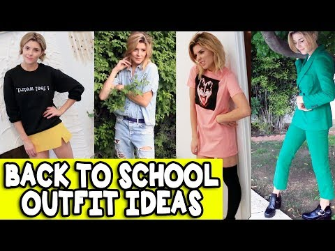 BACK TO SCHOOL OUTFIT IDEAS // Grace Helbig