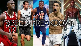 The All-Time Fastest Athletes In EVERY Major Sport