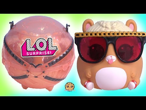 MC Hammy BIG Mom + Baby LOL Surprise Biggie PETS ! Eye Spy Blind Bags