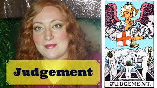 JOURNEY THROUGH THE TAROT: Week with JUDGEMENT | Introduction to the WORLD