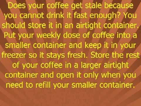Brew New Life To Your Coffee Habit