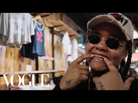 How Rapper Young M.A. Keeps It Real When She Shops