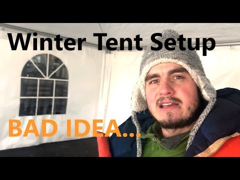-30C Winter Marquee Tent Setup - Growing Event Rental Business