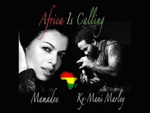 """Africa Is Calling"",   Mamadee with Ky-Mani Marley -- ALBUM ''Beautiful Soul''"