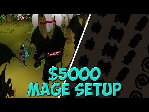 THE ULTIMATE MAGE SETUP ON DREAMSCAPE RSPS ($5000+)!!* Loot