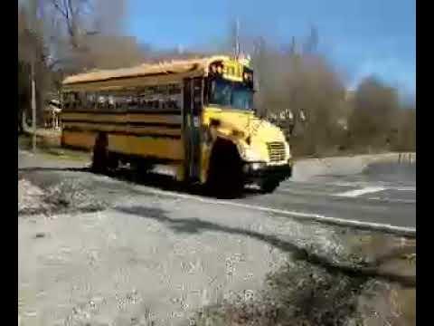 Video: Last bus ride, across railroad tracks