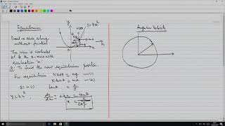Problem Session-1: Motion of System of Particles and Rigid Bodies