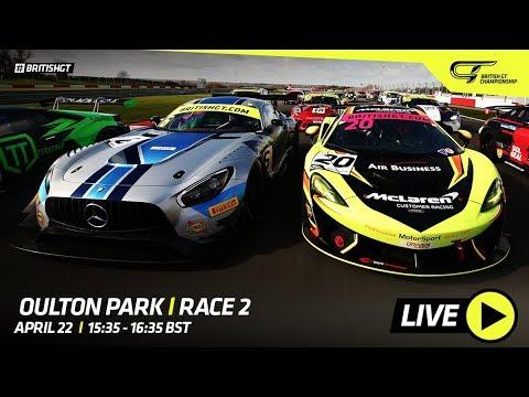 RACE 2 - Oulton Park - British GT 2019