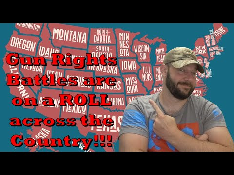 Gun Control stagnant in D C… but the fight is ON at the State level, and we're winning battles!…