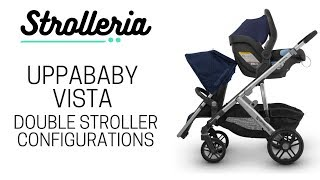UPPAbaby VISTA Double Configurations: How to Turn the VISTA into a Double Stroller