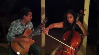 If I fell - the Beatles - cello and guitar
