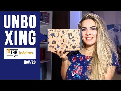 Unboxing TAG INÉDITOS   Edição NOVEMBRO 2020