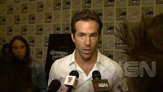 Ryan Reynolds - Green Lantern Interview (Comic-Con 10)