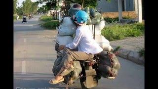 Những hình ảnh giao thông hài hước chỉ có tại Việt Nam