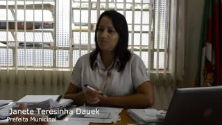 preview picture of video 'Opiniões: Prefeita Municipal Janete Teresinha Dauek'