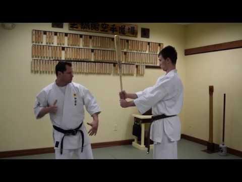 Uechi Ryu Tameshiwari - Kote Uchi