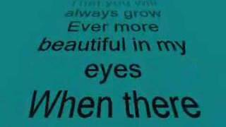 Beautiful in my Eyes Lyrics - Christian Baustista