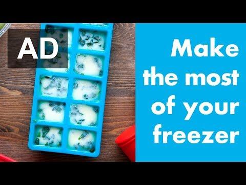 5 ways to make the most of your freezer (+ enter to win a Beko Fridge Freezer!) #ad
