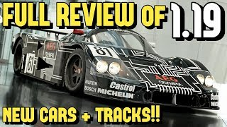 FULL REVIEW of LE MANS and 9 NEW CARS of GT SPORT 1.19!!
