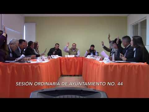 Sesión Ordinaria No.44 de Ayuntamiento 27 de octubre de 2017