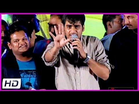 Director Sujeeth Singh Talking About Prabhas At  Run Raja Run Movie Audio Launch  - Sharwanand