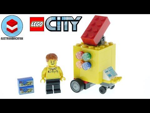 Vidéo LEGO City 30569 : Le stand LEGO (Polybag)