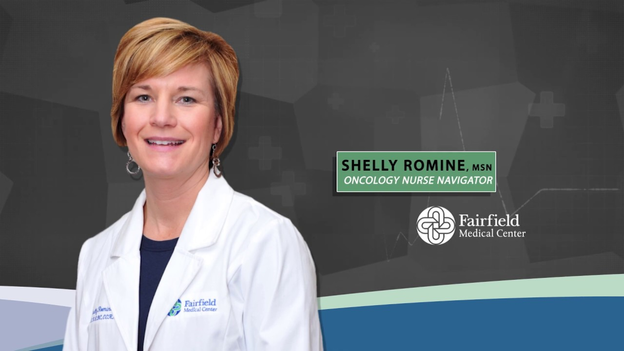 Experience Family with Oncology Nurse Navigator, Shelly Romine, MSN