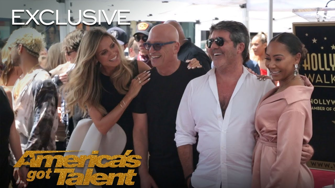 A Behind The Scenes Look At Simon Cowell's Hollywood Star Celebration - America's Got Talent 2018 thumbnail