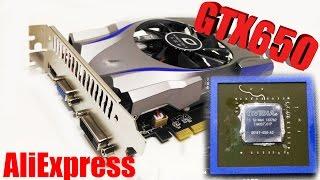 GTX650 Видеокарта из китая с Aliexpress (обзор распаковка замена термопасты)