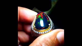 Kalimaya Black Opal Banten Jarong Super Mempesona