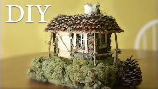DIY How To Make A Fairy House. Tutorial.