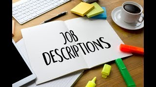 How To Write A Job Description - Top Resume Tips - Part 3