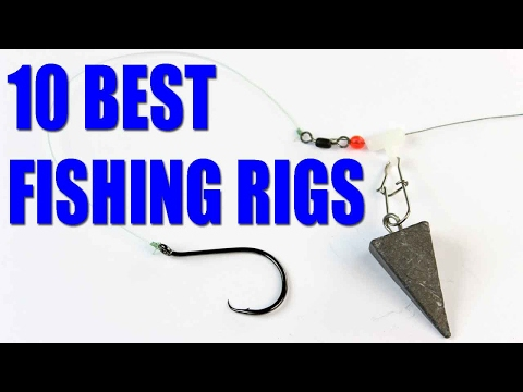 Fishing rigs –  Bait fishing rigs for catfish, bass, trout – how to fish