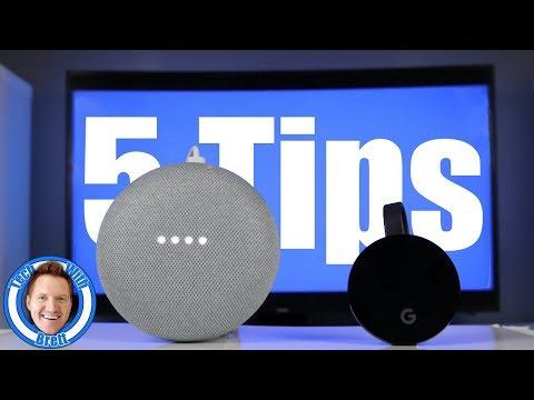 5 Advanced Tips for Google Home & Chromecast