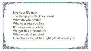Cheryl - Live Life Now Lyrics