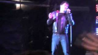 John Barrowman sings What About Us Live in Birmingham