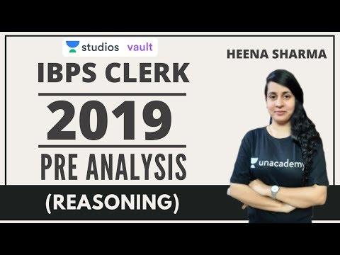 IBPS CLERK Exam Analysis   Reasoning   Heena Sharma