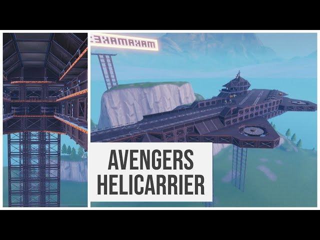 Helicarrier FFA Hide and Seek