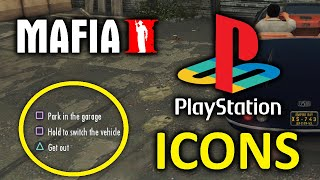 Mafia 2 PC - Playstation Icons