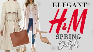 Elegant SPRING Outfits From H&M | Fashion Over 40