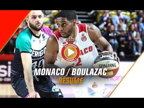 Jeep Elite — Monaco 90 - 78 Boulazac — Highlights