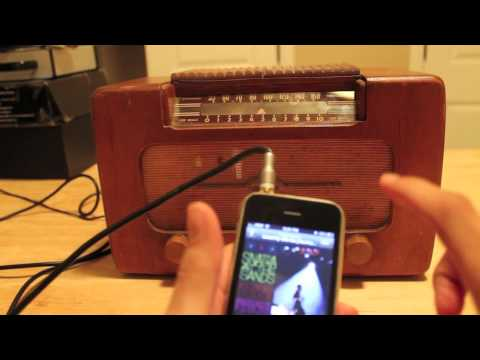 Repurpose A Vintage Radio Into An External Speaker